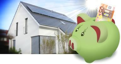 Mit der Einspeisevergütung für die Photovoltaik kann man bares Geld sparen