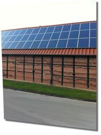 Photovoltaikanlage auf Scheune
