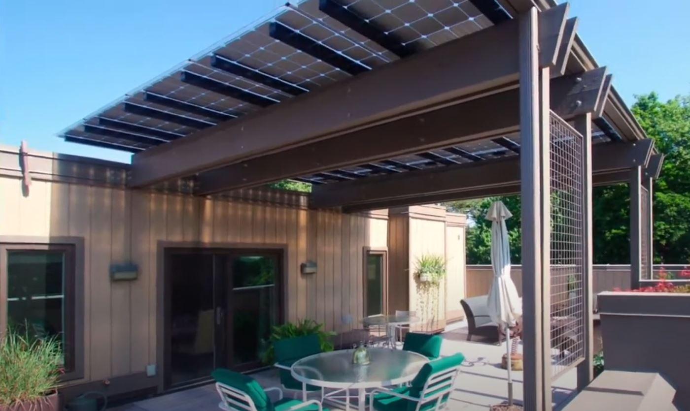 Solarterrassendach Vorteile