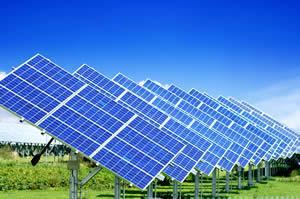 solarstrom über solarmodule